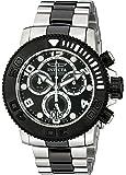 Invicta Men's 11161 Sea Hunter Pro Diver Chronograph Black Dial Watch