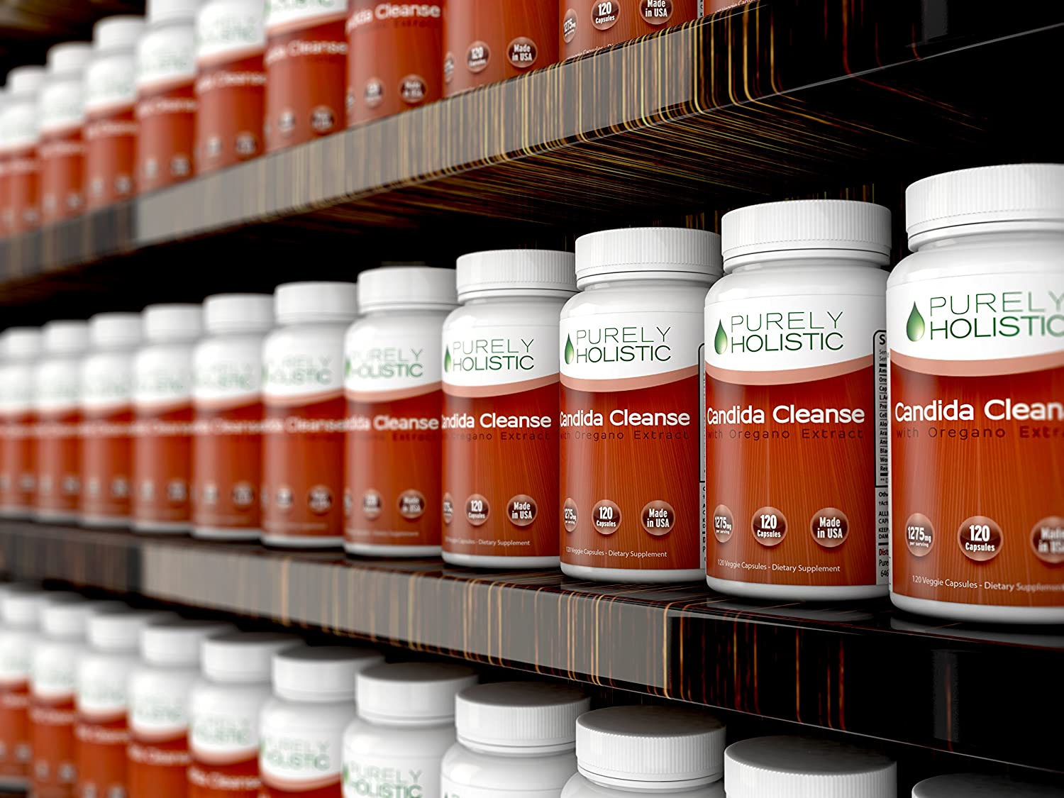 Candida probiotic herbal store buy - Amazon Com Candida Cleanse 120 Capsules Veggie Caps With Herbs Antifungals Enzymes And Probiotics Health Personal Care