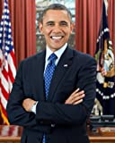 Amazon Price History for:Barack Obama Official Portrait 2nd Term December 2012 Photo American Presidents Photos 8x10