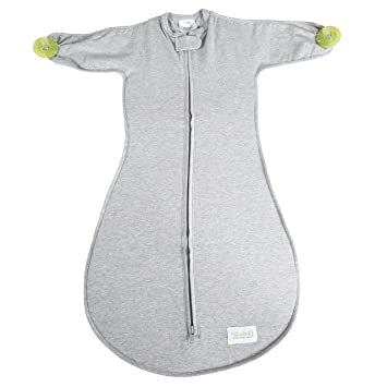 Amazon.com: Woombie soothie Misty Gris Saco con construido ...