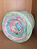 Farbverlaufsgarn 200 Gramm LL ca. 1000 Meter Farbe 434 (Grundpreis EUR 8.00/100 Gramm)