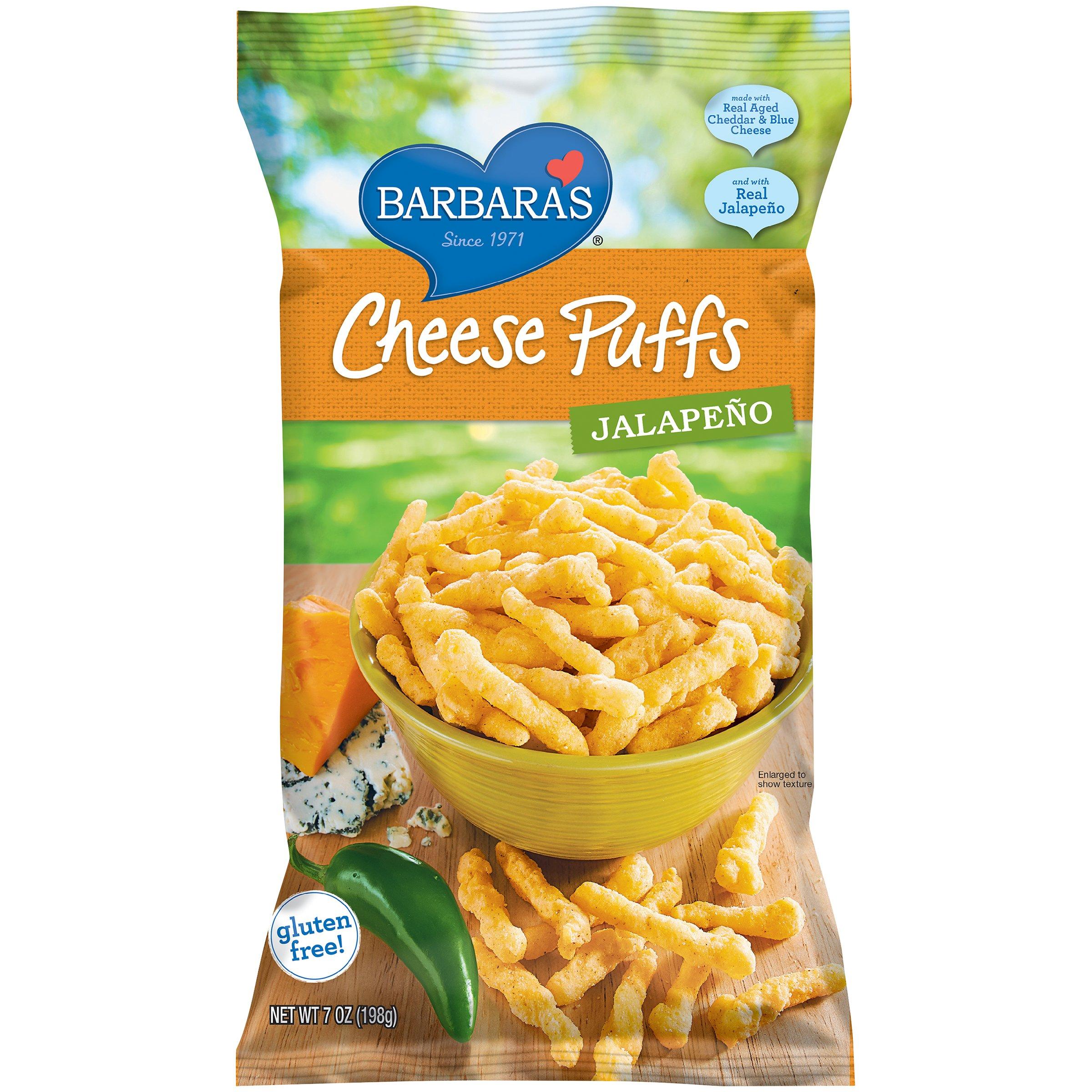 Barbara S Cheese Puffs Original 7 Ounce Pack Of 12