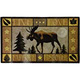 Lodge Series Moose Tempered Glass Cutting Board
