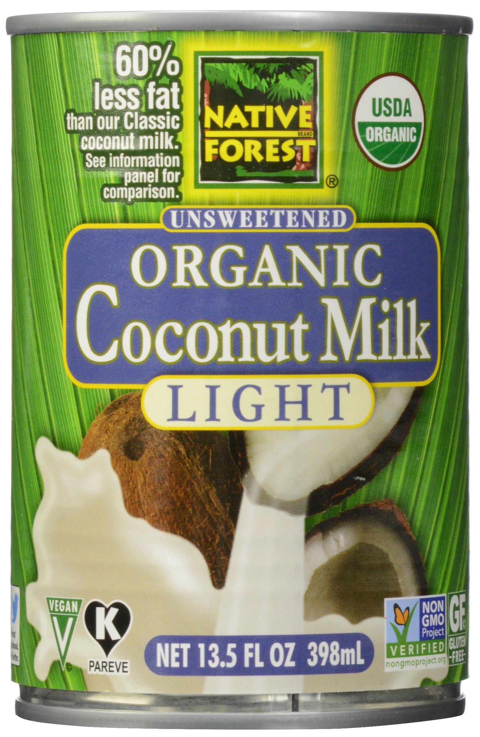 Native Forest, Organic Coconut Milk, Light, 13.5 oz
