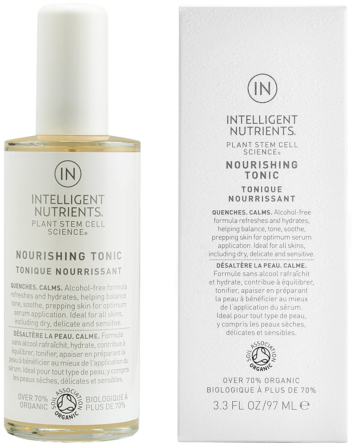 Intelligent Nutrients - Nourishing Tonic for All Skin Types, Especially Dry Skin, 3.3oz