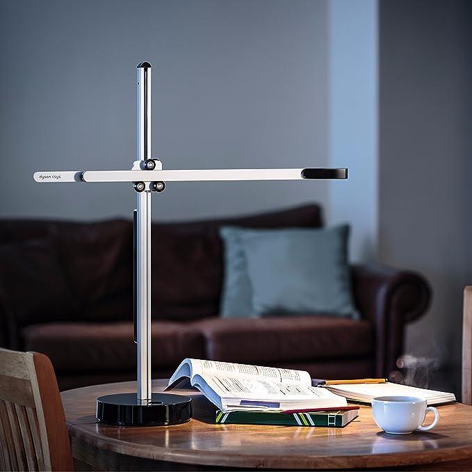 Jake Dyson Csys Desk Table Lamp (UK Plug) - Black/Silver: Amazon ...