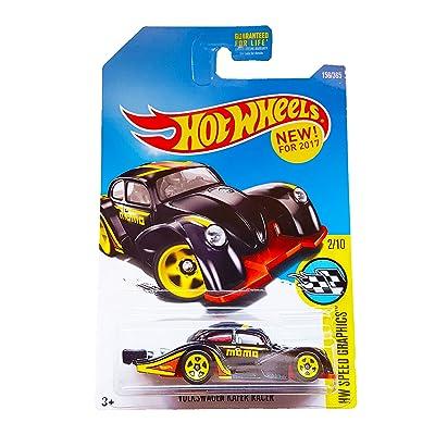 Hot Wheels 2020 HW Speed Graphics Volkswagen Kafer Racer 156/365, Black: Toys & Games