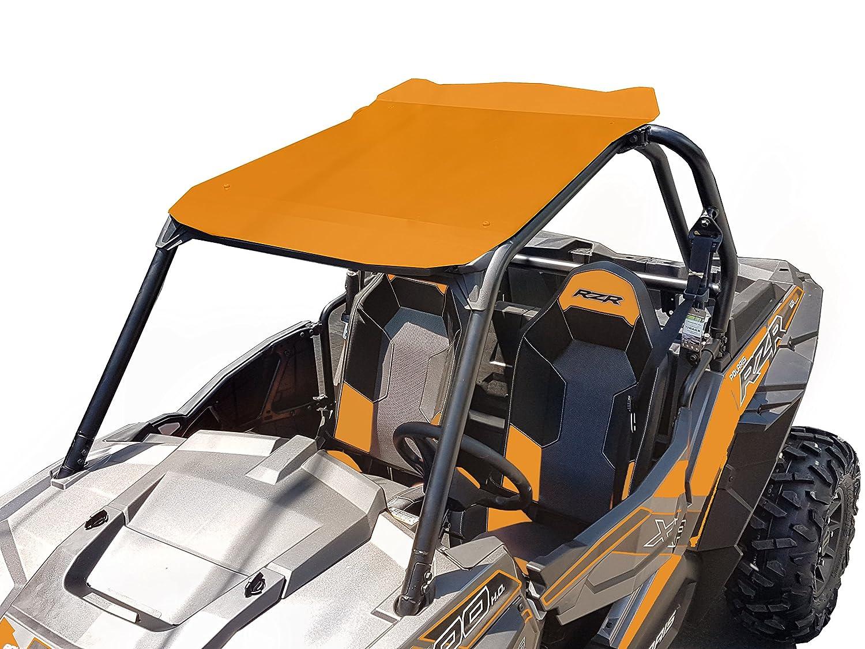 Polaris RZR XP 900/1000 Aluminum Roof 2 Seats Orange RaceX
