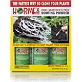 Hormex Rooting Hormone Powder #1,3,8 | for Easy to Moderately Difficult to Root Plants | Fastest IBA Rooting Powder Compound