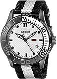 """Gucci G-Timeless"""" White Diamond Pattern Dial Men's Watch(Model:YA126243)"""