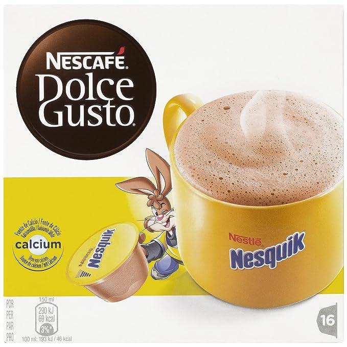 NESCAFÉ Dolce Gusto Café Nesquik | Pack de 16 Cápsulas: Amazon.es: Amazon Pantry