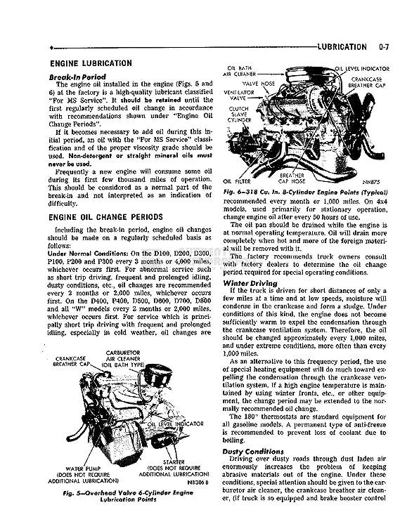 Amazon.com: bishko automotive literature 1966 Dodge D/W 100-800 Truck Shop Service Repair Manual Book Engine Electrical: Automotive