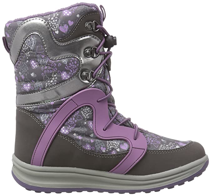 185ab899350bef Geox Roby B Girl ABX B Bottes de Neige Fille Gris c9275dk Grey/Lilac ...
