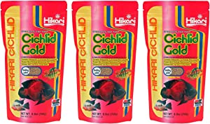 Hikari Cichlid Gold Floating Baby Pellets for Pets, 8.8-Ounce (3 Pack)