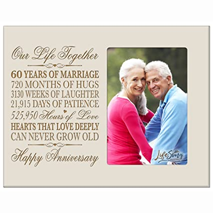 amazon com 60th anniversary gifts for her him 60 year wedding