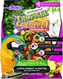 Browns Tropical Carnival ZOO VITAL Large Parrot & Macaw Pellet Extruded Daily Diet-1.36KG