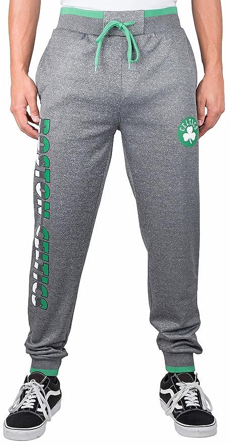 823a2920068 NBA Boston Celtics Men s Jogger Pants Active Basic Bounce Fleece  Sweatpants
