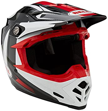 Bell Cascos MX 2017 Moto-9 Flex adultos casco, Vice negro/blanco,