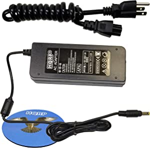 HQRP AC Adapter/Power Supply for HP OfficeJet 7300/7310 / 7310xi / 7313 Printer Replacement Plus Coaster