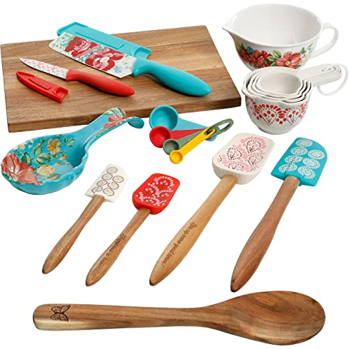 Pioneer Woman Floral Kitchen Gadget Set