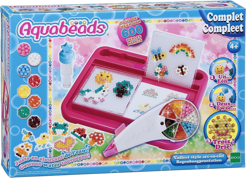 Aqua Beads - Kit de fabricación con Cuentas de Colores (EPOCH 79518): Amazon.es: Juguetes y juegos