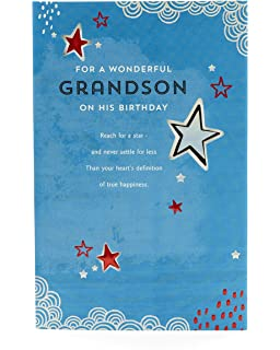 Grandson Birthday Card Funny