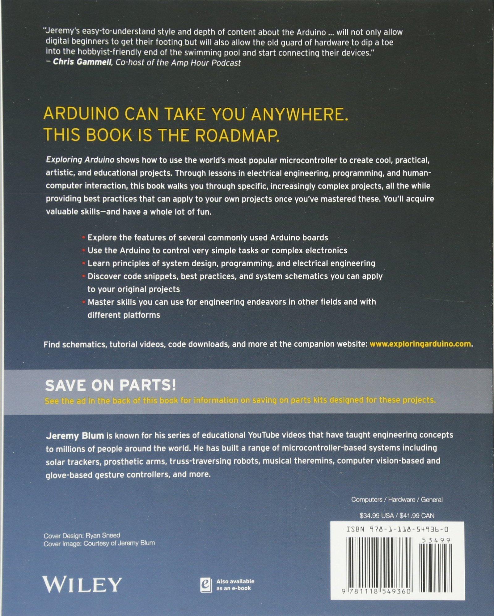 Jeremy Blum Arduino Book