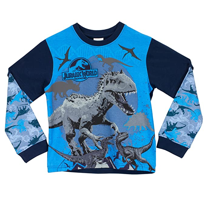 Jurassic World - Pijama para Niños - Jurassic World: Amazon.es: Ropa y accesorios