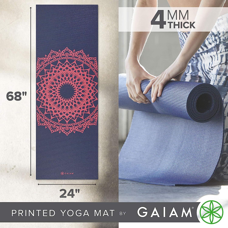 Esterilla para Yoga y Fitness Antideslizante Gaiam