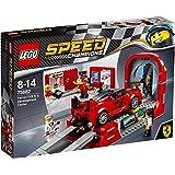 LEGO - 75882 - Speed Champions -  Jeu de Construction - Le centre de développement de la Ferrari FXX K