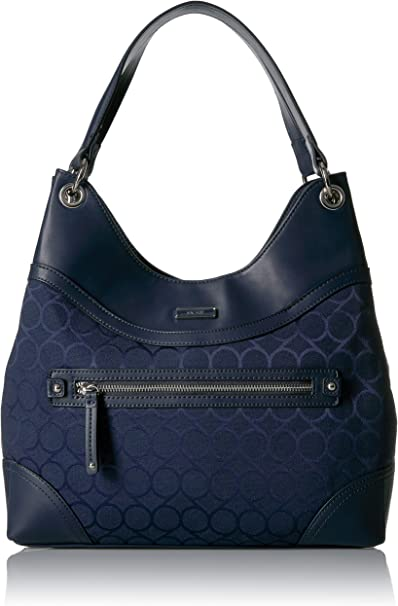Nine West 9 Jacquard Shoulder Bag, Moody Blue