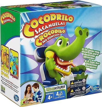 Hasbro - Cocodrilo sacamuelas, Juego de Habilidad (B04081750) (versión española / Portuguesa): Amazon.es: Juguetes y juegos