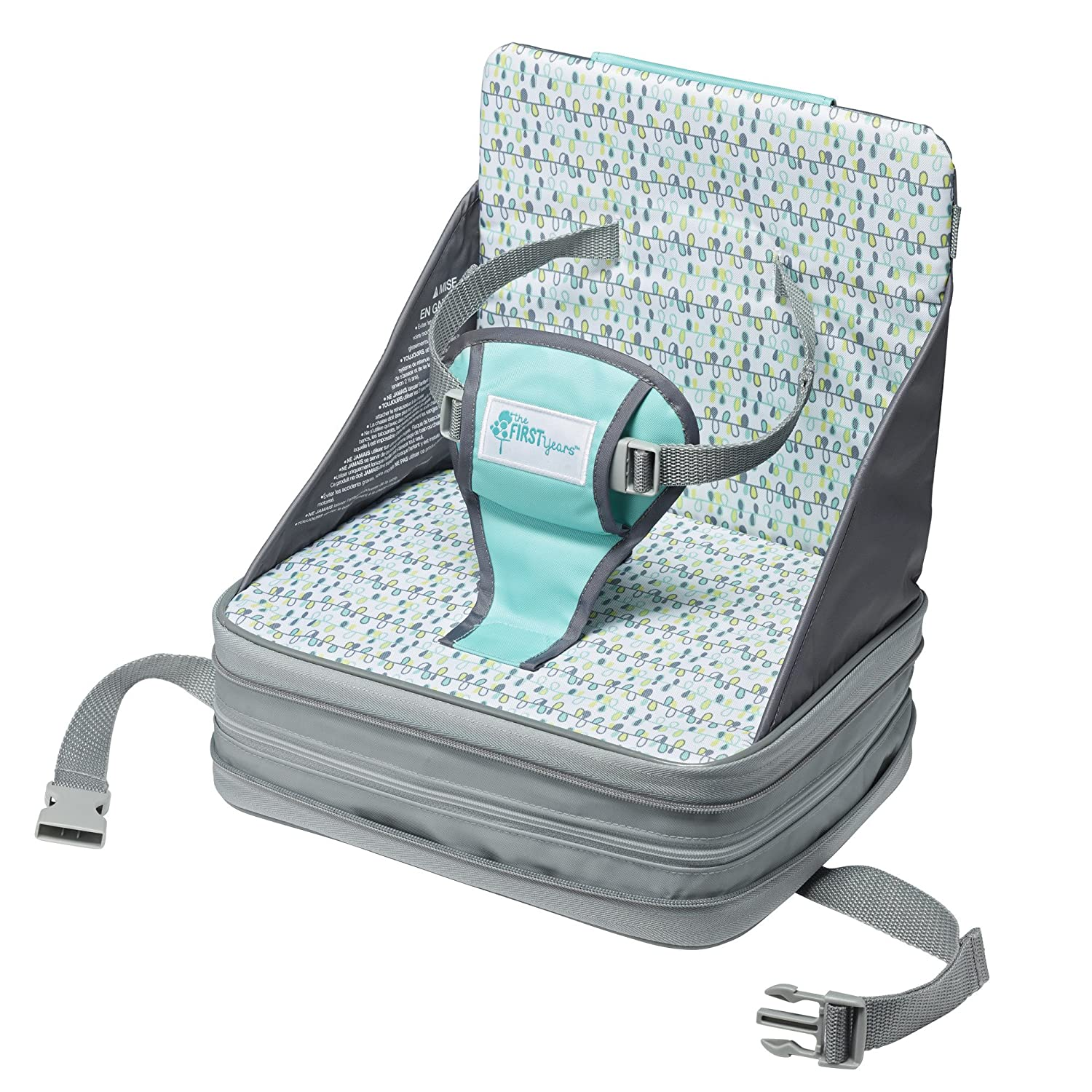 The First Years On-The-Go Booster Seat, Safari Y7392A