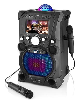 amazon com singing machine sdl9030db carnaval karaoke system musical instruments