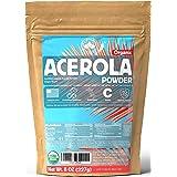 ACEROLA Powder 8oz   Certified Organic Acerola Cherry Powder   Immune System Booster   Natural Vitamin C SUPERFOOD   Blend fo