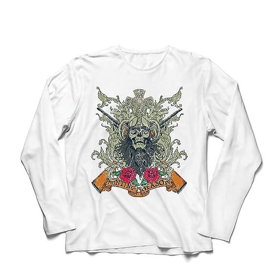 lepni.me Camiseta de Manga Larga para Hombre Ropa de Temporada de Caza - Caza de venado o Pato, Ropa de Cazador: Amazon.es: Ropa y accesorios