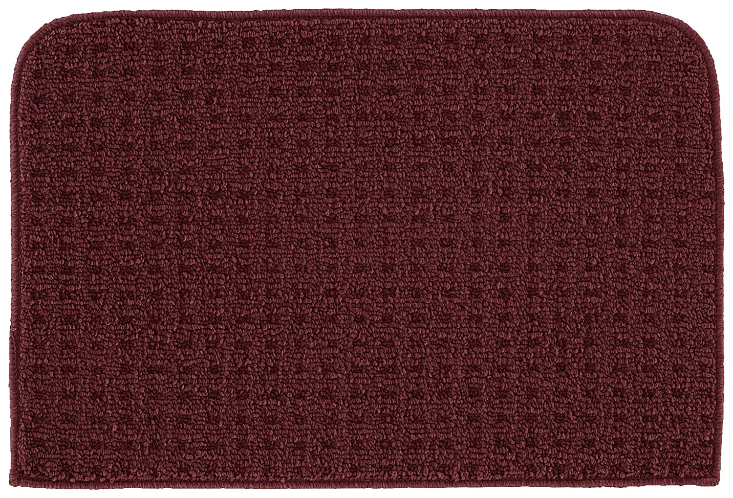 Garland Rug Herald Square Kitchen Slice Rug, 18-Inch by 30-Inch, Burgundy