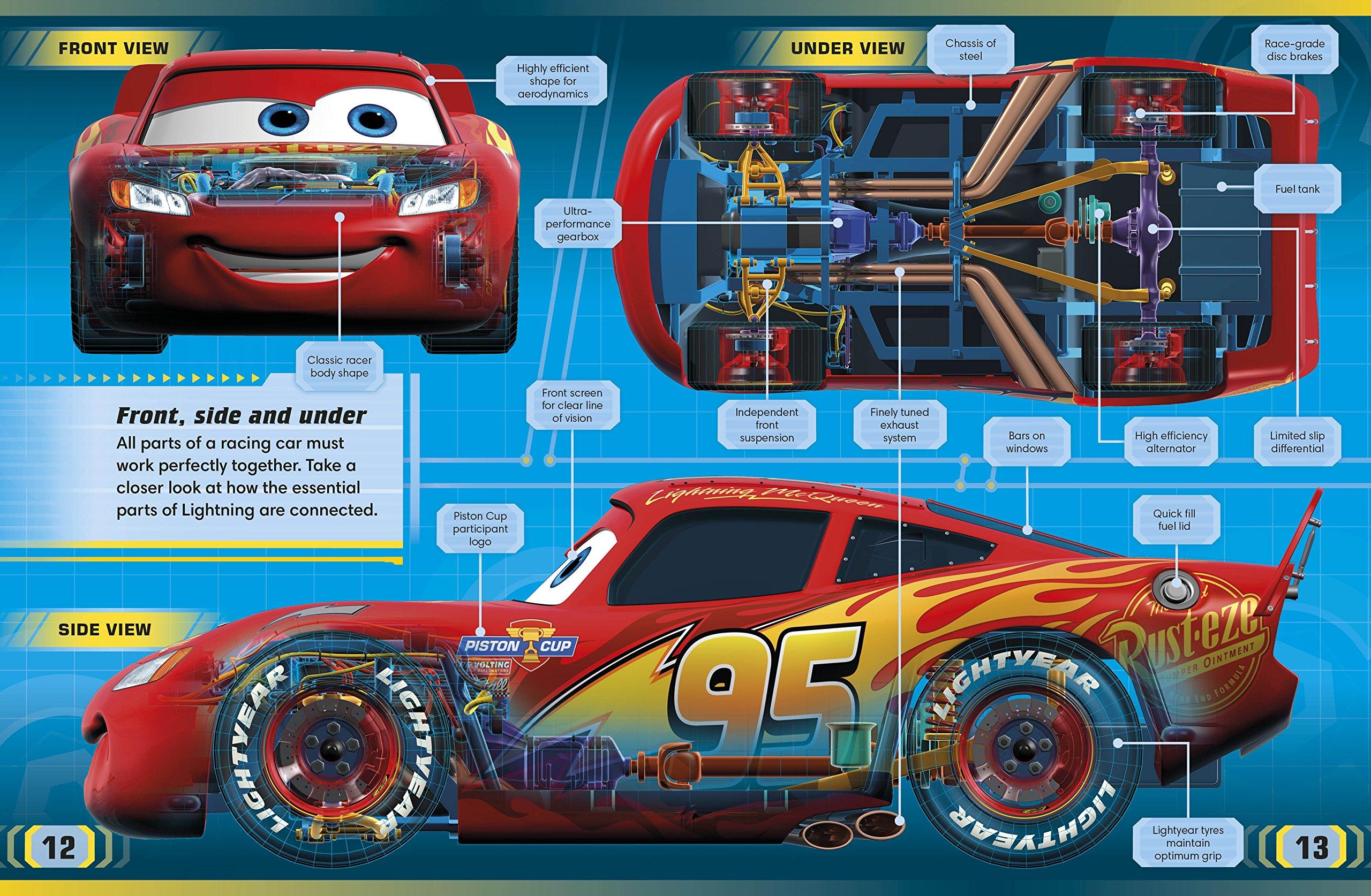 Disney Pixar Cars 3 The Essential Guide: Amazon.de: Steve Bynghall ...