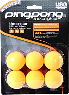Ping-Pong T1410 Lot de 6 balles de Tennis de Table PHQKV T1435
