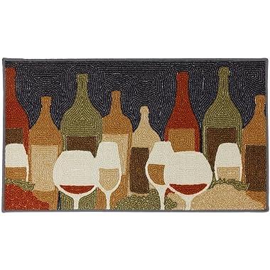 Mohawk Home Soho Wine Play Printed Rug, 1'8x2'10, Multi