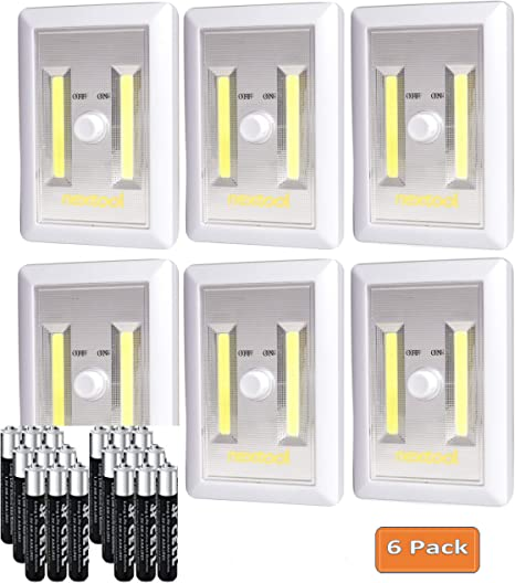 Dimmer Switch Dimmable Wireless Wall Lamp Wall Mount Cob Led Light Night Light