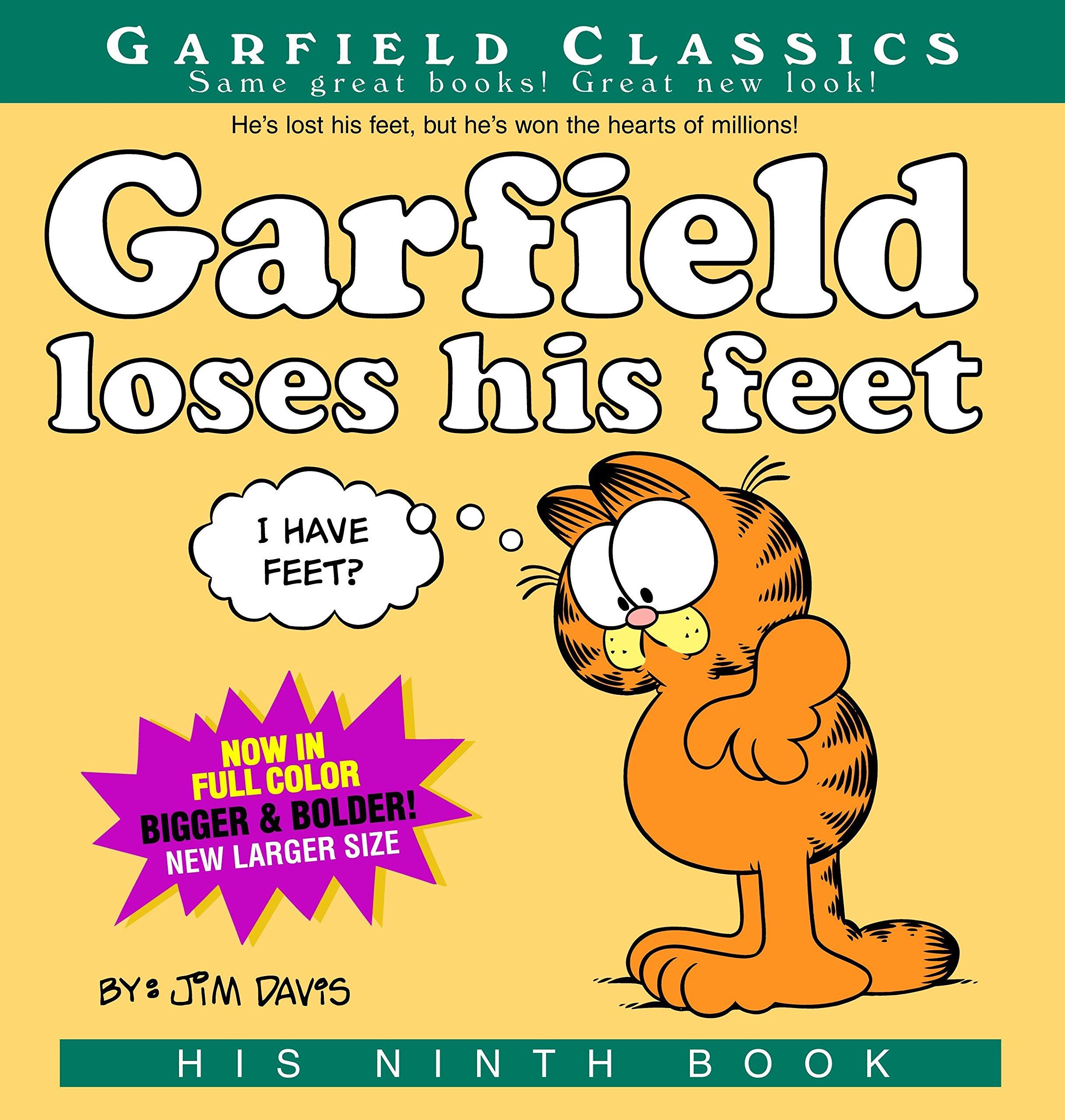 Amazon Com Garfield Loses His Feet His 9th Book 9780345464675 Davis Jim Books
