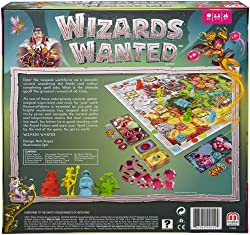 Wizards Wanted Board Game - gifts for 10 year old boys