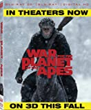 War For The Planet Of The Apes (Bilingual) [3D Blu-ray + Digital Copy]