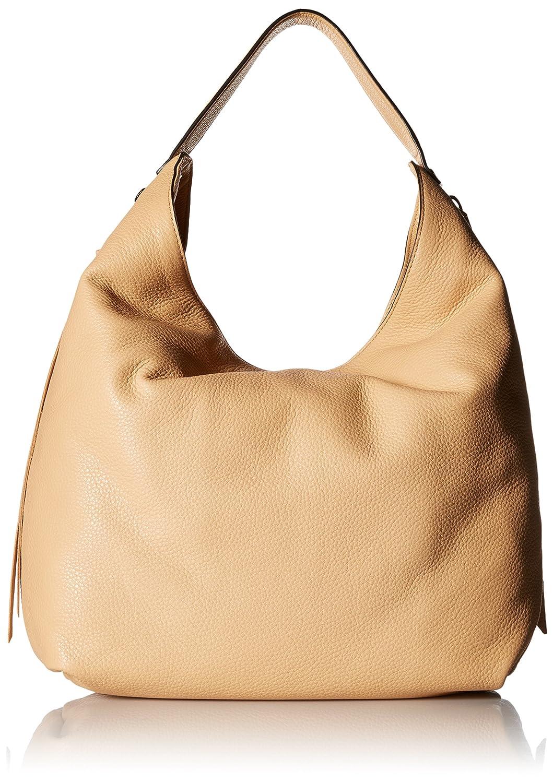 Rebecca Minkoff Bryn Double Zip Hobo Bag Biscuit One Size