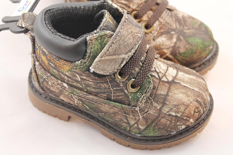 31432ca3670ac Amazon.com | Realtree Garanimals Baby Boys Camouflage Print Hiking Boots  (4) | Shoes