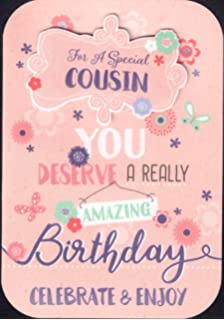 Female Cousin Birthday Card