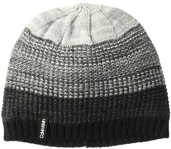 Calvin Klein Women s Ombre Knit Fleece Lined Beanie 149535447cd