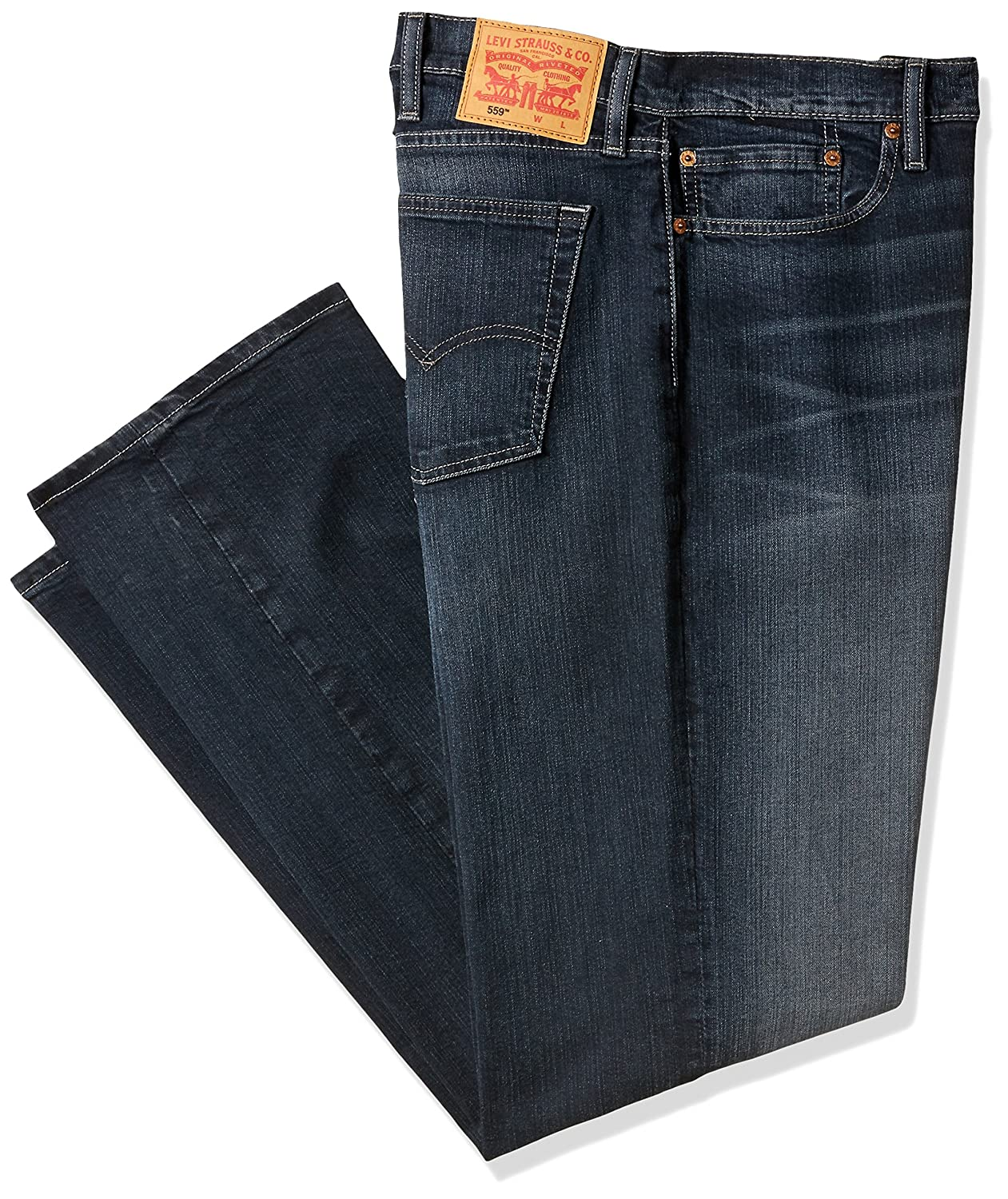 1dce2856 Amazon.com: Levi's Men's Big and Tall Big & Tall 559 Relaxed Straight-Leg  Jean: Clothing