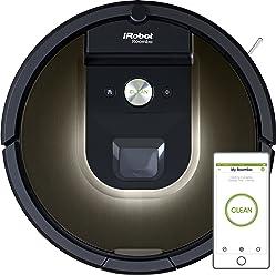 iRobot Roomba 981 Robotic Vacuum Cleaner, Night Blue